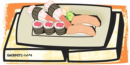 Know the difference between sushi, hand rolls, norimake and uramaki